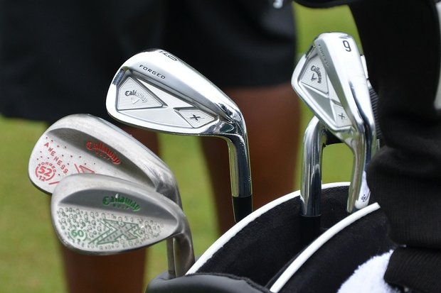 Branden Grace plays Callaway X Forged irons and X Forged wedges.