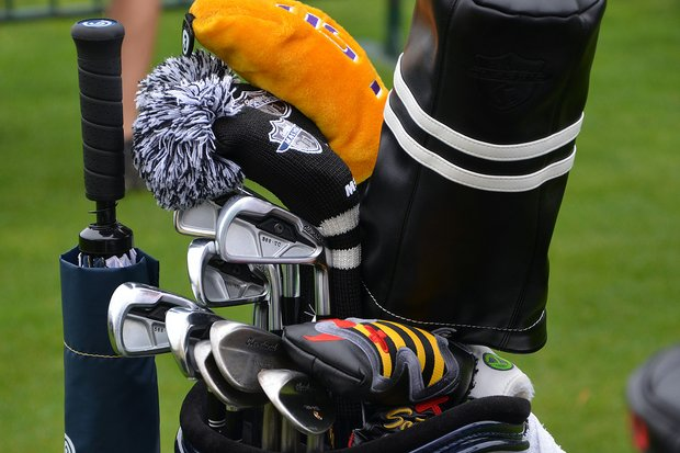 David Toms recently switched to a set of Cleveland 588 TC irons.