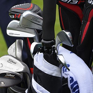 Brendan Steele has mixed a Titleist 712U 4-iron into his set of Titleist 712 MB irons.