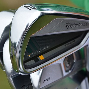Australia's John Senden has a TaylorMade RocketBladez 2-iron in his bag at the U.S. Open.