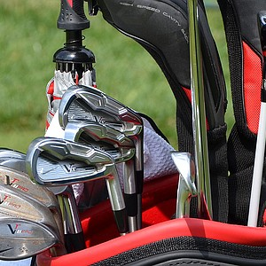 Carl Pettersson is mixing Nike VR_S Forged long- and mid-irons (4-6) with VR Pro Combo short irons at the U.S. Open.