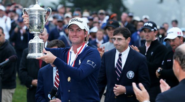 Webb Simpson, the defending U.S. Open champion, revealed how he switched gear before he won his first major – and says he's not afraid to give up anchored putting.