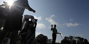 PHOTOS: Tuesday practice, U.S. Open at Merion