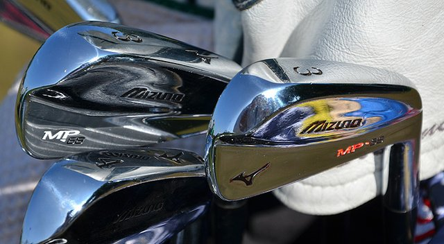 Shawn Stefani relies on a pair of Mizuno 3-irons – his new normal instead of hybrids.