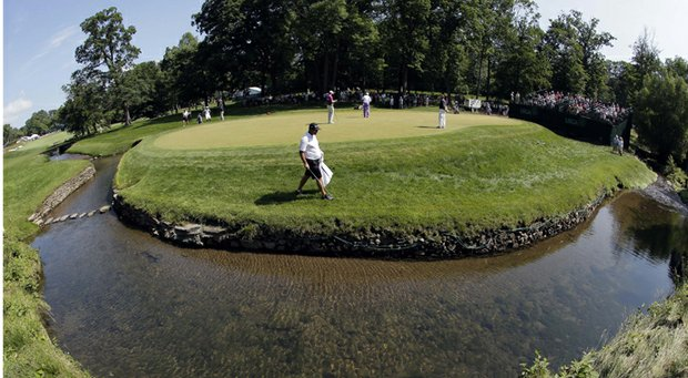 USGA Executive Director Mike Davis said Wednesday roughs and greens at Merion Golf Club have been mown to the desired heights for play in this year's U.S. Open.