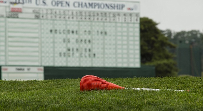 Wicker baskets are practically a trademark of Merion Golf Club, site of the 2013 U.S. Open.