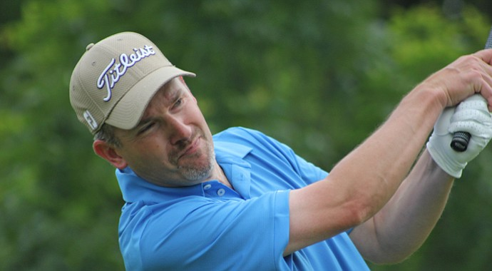 Tom Werkmeister during the 2013 Michigan Open.