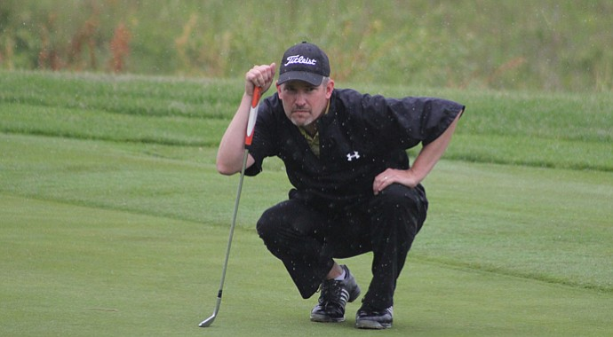 Tom Werkmeister during the first round of the 2013 Michigan Open Championship.