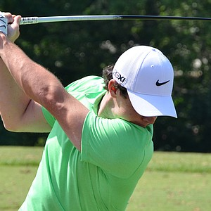 Rory McIlroy also tested a Mitsubishi Kura Kage prototype driver shaft in his Nike VR_S Covert driver.