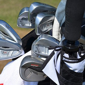 Hunter Mahan will try to win his first major championship this week using these Ping S56 irons.