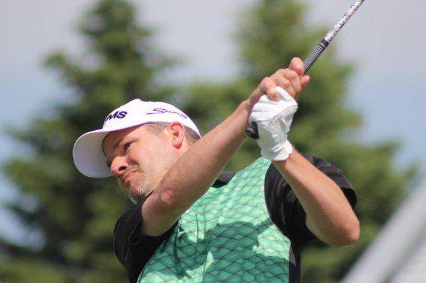 Tom Werkmeister during the final round of his win in the 2013 Michigan Open.