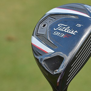 Webb Simpson carries a 15-degree Titleist 913F fairway wood with a Proforce VTS shaft.