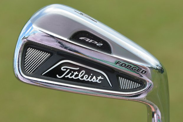 Webb Simpson's irons are Titleist 712 AP2 irons (3-9) with True Temper Dynamic Gold Tour Issue shafts.