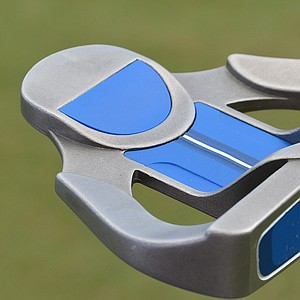 Webb Simpson's belly putter is a Ping G5i Craz-E B.