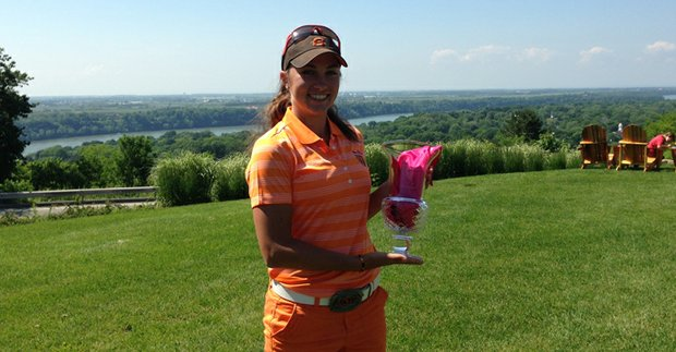 Casie Cathrea of Livermore, Calif., won the inaugural Women's Porter Cup at Niagara Falls Country Club by three shots on June 14.
