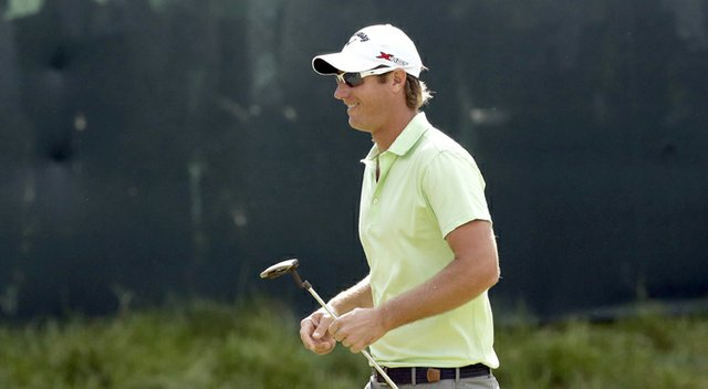 Nicolas Colsaerts during the second round of the 2013 U.S. Open.