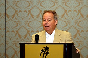Golfweek's Father of the Year, Jay Seawell, during the Golfweek Father & Son Open at Reunion Resort.