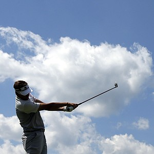 Ian Poulter during the third round of the 2013 U.S. Open at Merion Golf Club.