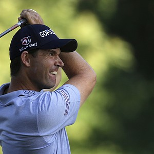 Padraig Harrington during the second round of the 2013 U.S. Open at Merion Golf Club.