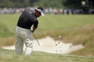 K.J. Choi during the third round of the 2013 U.S. Open at Merion Golf Club.