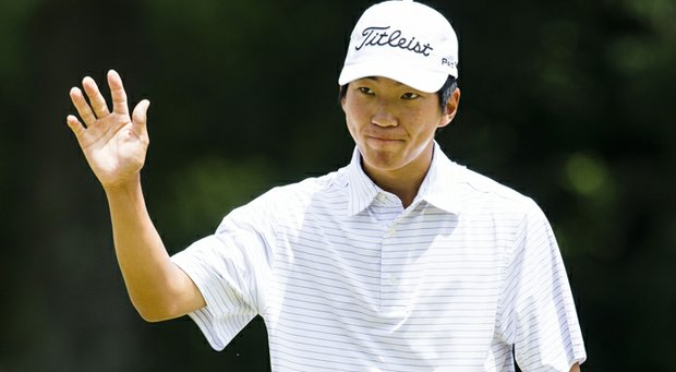 Michael Kim finished T-56 at Web.com Tour Q-School, but still decided to turn professional and will make his pro debut at the Farmers Insurance Open in January.