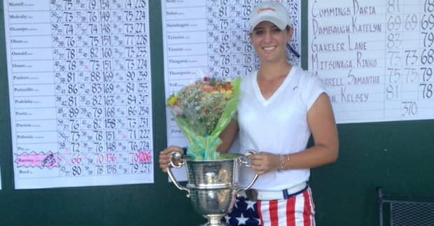 Ashlan Rasmey won the 2013 Eastern Women's Amateur.