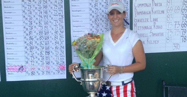 Ashlan Rasmey won the 2013 Eastern Women's Amateur.