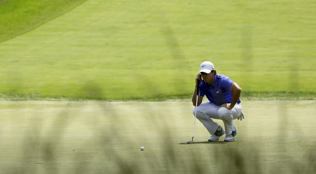 Rory McIlroy during the 2013 U.S. Open at Merion Golf Club.