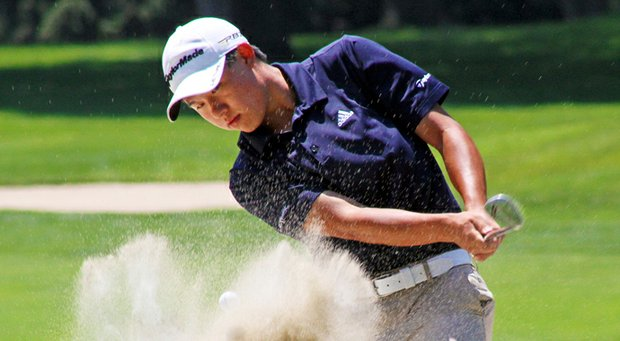 Collin Morikawa at the 2013 Western Junior