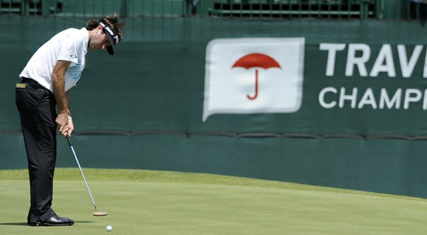 Bubba Watson during the second round of the 2013 Travelers Championship.