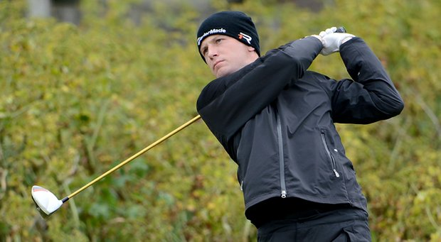 Garrick Porteous during the final of the British Amateur.