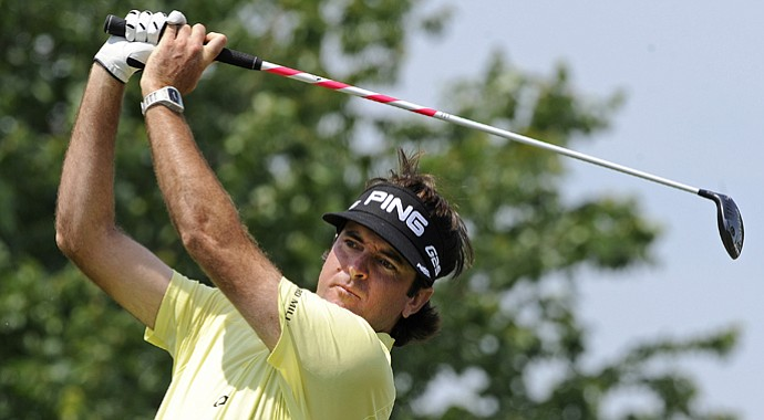 Bubba Watson during the third round of the Travelers Championship.