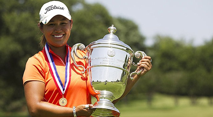 Lauren Diaz-Yi wins the 2013 U.S. Women's Amateur Public Links championship.