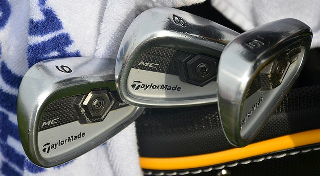 Ken Duke's TaylorMade irons used during his win at the 2013 Travelers Championship.