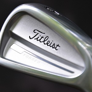 Titleist unveiled the new 714 CB irons to pros at Congressional Country Club on Monday.