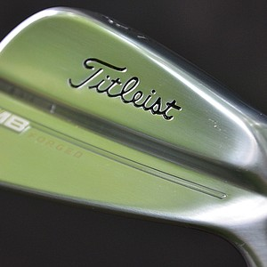 Titleist unveiled the new 714 MB irons to pros at Congressional Country Club on Monday.
