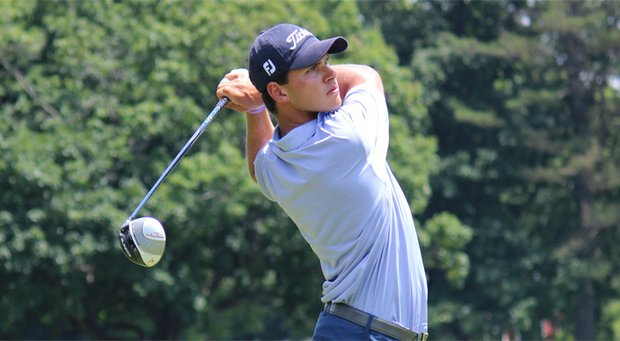 Cody Paladino during his win in the 2013 Connecticut Amateur.