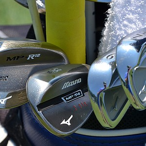 Charles Howell III plays Mizuno's MP-64 irons, an MP-T4 lob wedge and a MP-R12 sand wedge.