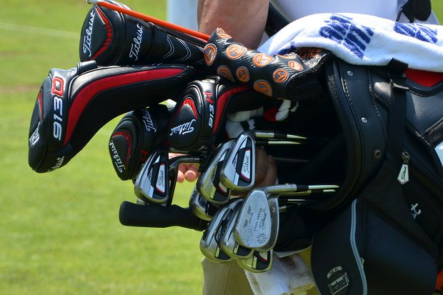 Ben Curtis used to play Titleist's 712 AP1 irons, but switched this week to the company's new 714 AP1 irons.