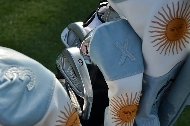 Angel Cabrera has Ping S56 irons in his bag.