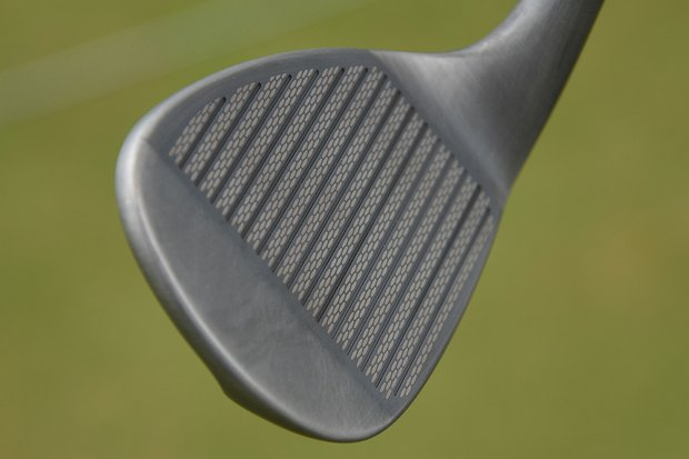 The newly-updated grooves are larger and farther apart than those found in the original Mack Daddy wedges.