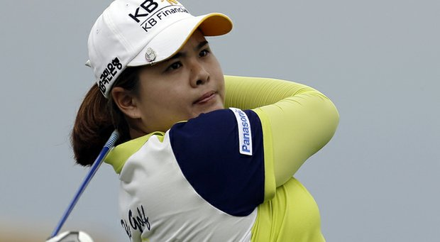 Inbee Park during the first round of the 2013 U.S. Women's Open at Sebonack in Southampton, N.Y.