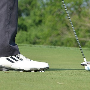 Lucas Glover recently switched to a TaylorMade Spider Blade putter.