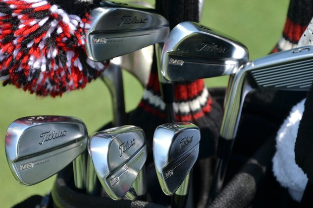 Jimmy Walker has switched to Titleist's new 714 MB irons.