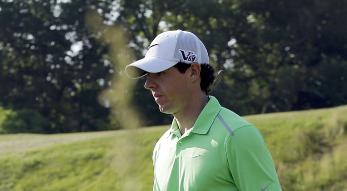 Rory McIlroy during the 2013 U.S. Open.