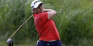 Stanford in contention for her first major victory