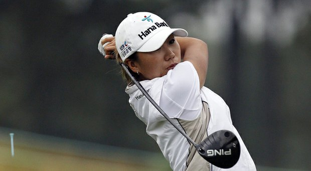 I.K. Kim during the second round of the 2013 U.S. Women's Open at Sebonack in Southampton, N.Y.