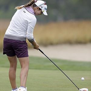 Beatriz Recari during the second round of the 2013 U.S. Women's Open at Sebonack in Southampton, N.Y.