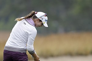 Beatriz Recari during the second round of the 2013 U.S. Women's Open at Sebonack in Southampton, N.Y.