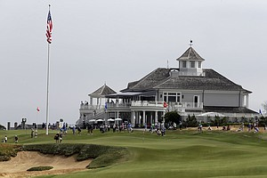 Sebonack Golf Club during the 2013 U.S. Women's Open at Southampton, N.Y.